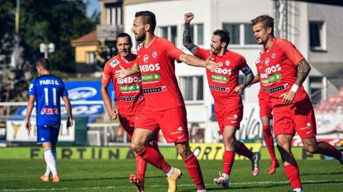 Dva góly na body nestačily, Zbrojovka podlehla Olomouci 2:4