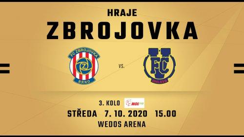 PREVIEW: V poháru s Jihlavou, zápas poběží na Zbrojovka TV