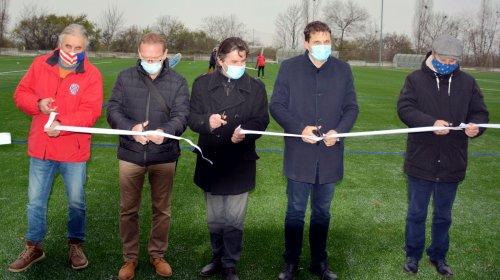 V Brněnských Ivanovicích bylo slavnostně otevřeno nově zrekonstruované hřiště