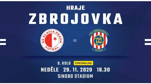 PREVIEW: K dalšímu utkání míří Zbrojovka na Slavii!