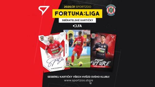Sběratelské kartičky FORTUNA:LIGY jsou k dostání i v našem Fanshopu!