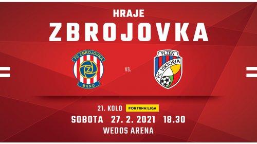 V sobotu přivítáme Plzeň!