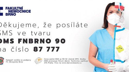 Podporujeme Fakultní nemocnici Brno!