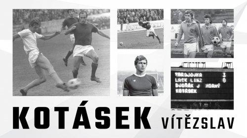 Mistr ligy Kotásek slaví 75. narozeniny!