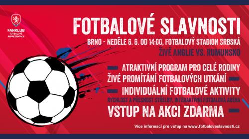 Fanoušci mohou ladit formu na EURO díky Fotbalovým slavnostem