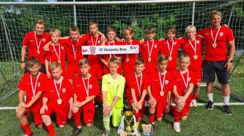 U12: Třetí místo na turnaji v Ostravě