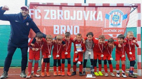 U9: Zbrojováci zvítězili na mezinárodním turnaji v Polsku!
