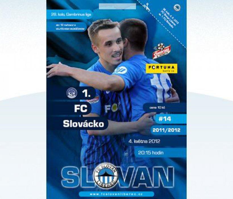 cc770afb13 Bulletin 14 - 2011 2012  FC Slovan Liberec vs. 1.FC Slovácko