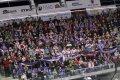 SD ARÉNA se na derby zaplnila z více než 60 procent, což bylo znát také v domácím kotli