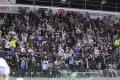 Radost z prvního gólu Vladimíra Růžičky po návratu z marodky propukla také v kotli domácích fanoušků