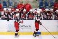 Hráči Jekatěrinburgu se radují z průběžného vedení nad Piráty