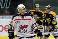Roman Prošek strávil na ledě necelých deset minut, během nichž zblokoval jednu ze střel Litvínova