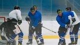 A-tým zahájil tréninky na ledě