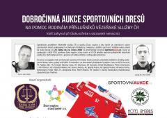 HC Olomouc se zapojí do dobročinné aukce dresů!