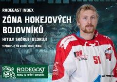 Hituj, skóruj, blokuj! V pátek se vrací do Olomouce Zóna hokejových bojovníků