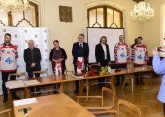 Zástupci HC Olomouc a statutárního města Olomouc podepsali smlouvu o partnerství