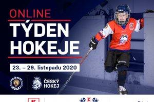 Týden hokeje se bude konat online formou. Na co a na koho se můžete těšit?