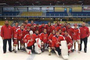 Medailové umístění porubských dorostenců na přerovském turnaji