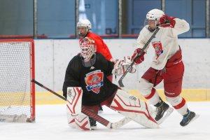 FOTO: Trénink juniorů HC RT TORAX Poruba 2011 na ledě