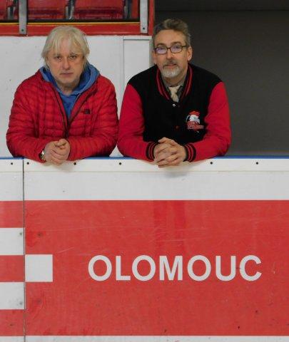 Zimní stadion navštívil primátor Miroslav Žbánek