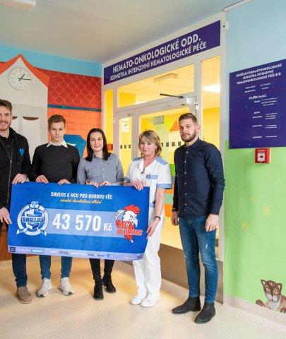 Kde pomáhají peníze z charitativního utkání? Hned na dvou místech fakultní nemocnice!