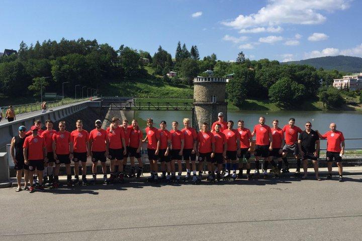 FOTOGALERIE: Soustředění A-týmu v Luhačovicích