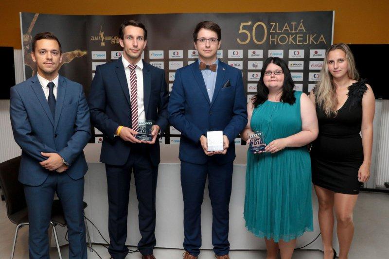 VIDEO: Klub obdržel cenu za vítězství v soutěži Ledová klapka