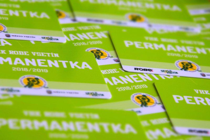 Informace k prodeji permanentních vstupenek na sezónu 2018/2019