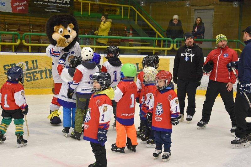 Týden hokeje přivedl na Lapač další děti. Nábor do přípravky pokračuje každý víkend!
