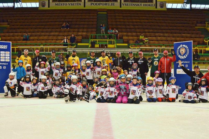Přijďte v pondělí 21. ledna v 17 hodin na Lapač na akci Týden hokeje!