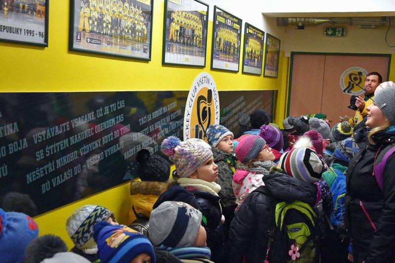 OBRAZEM: Mateřské školky navštívily Lapač
