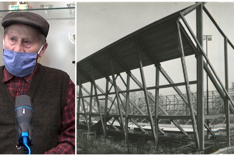 Poprvé jsem se na Valašsku setkal s tekutými písky, vzpomíná stavbyvedoucí na zastřešování Lapače