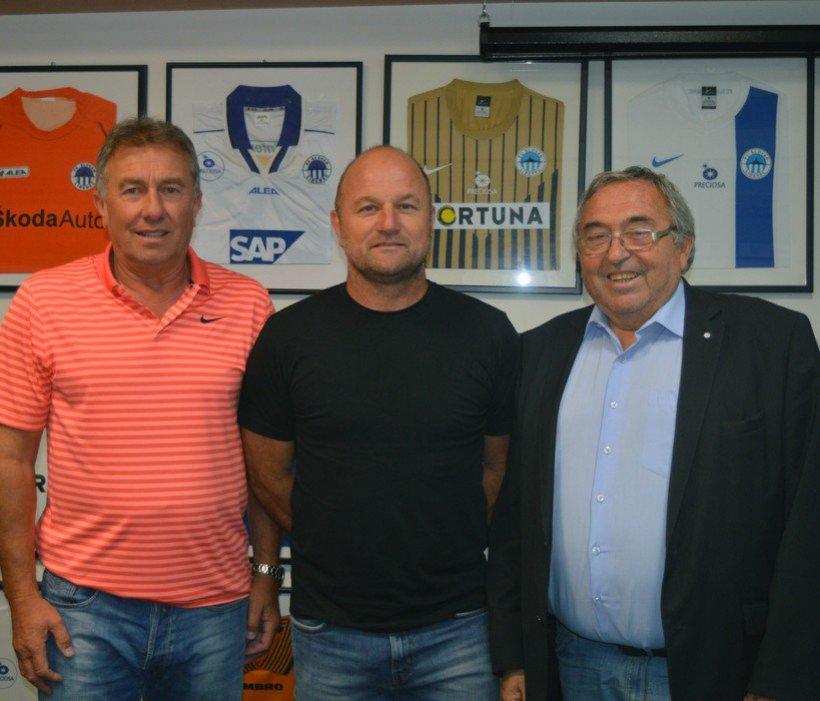 Willkommen in Liberec: Pavel Hoftych ist unser neuer Trainer