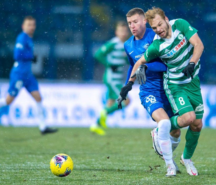 Marios Pourzitidis: Es war ein sehr kampfbetontes Spiel, trotz der Kälte