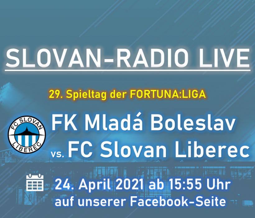 Slovan-Radio LIVE   FK Mladá Boleslav vs. FC Slovan Liberec