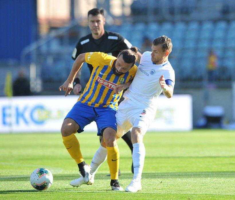 Slovan holt ein Auswärtspunkt in Opava, durch einen Treffer von Musa
