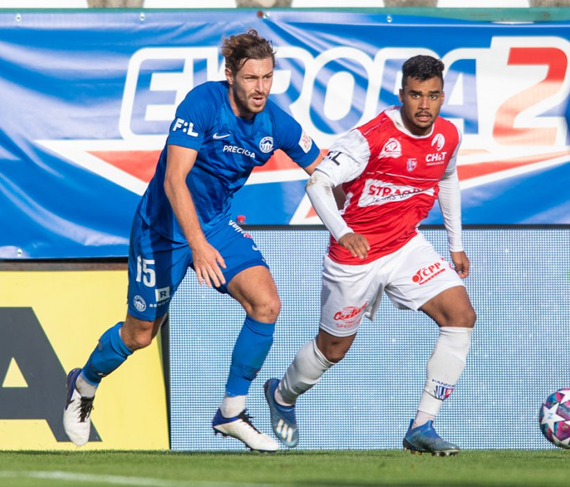 Slovan verliert 0:3 gegen Aufsteiger Pardubice