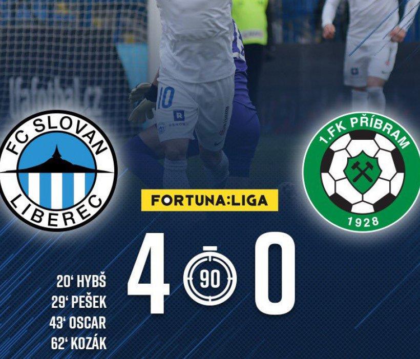 Mit Video: Grandioser Sieg mit mehreren Traumtoren - 4:0 gegen den 1. FK Příbram