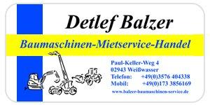 BALZER-BAUMASCHINEN-SERVICE