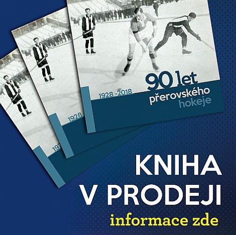 Kniha 90 let přerovského hokeje