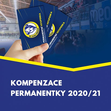 Permanentky 2020/21 - kompenzace