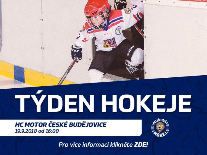 a603e0eae ČEZ Motor – Na Motoru proběhne celorepubliková akce Pojď hrát hokej