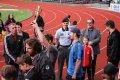 Jakub Urbisch ví, jak prezentovat trofej pro vítěze
