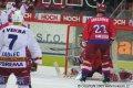 Jan Novák při početní převaze vstřelil gól na 3:1 pro hosty