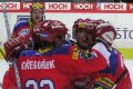 Petr Gřegořek oslavuje první gól domácích