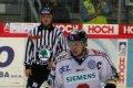 Kapitám hostí František Ptáček si připsal asistenci na druhý gól v sítí HC MOUNTFIELD