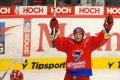 Petr Sailer slaví první gól v síti slavie.