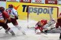 Ondřej Veselý v utkání doslova zářil, když vstřelil dvě branky domácího HC MOUNTFIELD.