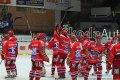 Děkovačka hráčů HC MOUNTFIELD za podporu fanouškům, kteří vypravili na zápas do Zlína autobus.