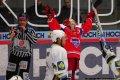 Čtvrtý gól domácích vstřelil Martynek a pro ex-jihočecha Cháberu tak skončilo jeho vystoupení na budějovickém ledě.